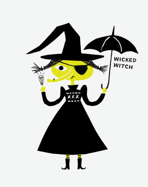 "Alison Oliver ""Wicked Witch"" Art Print"