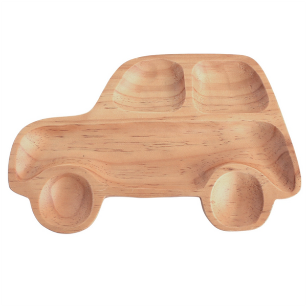 Wooden Car Plate