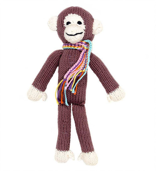 Swahili Hand Knit Monkey
