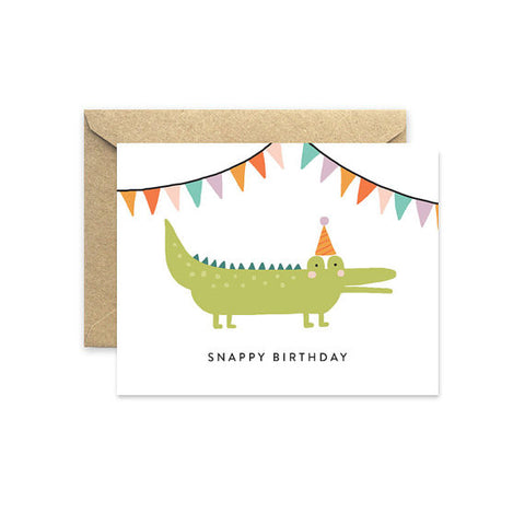 "August and Oak ""Snappy Birthday"" Card"