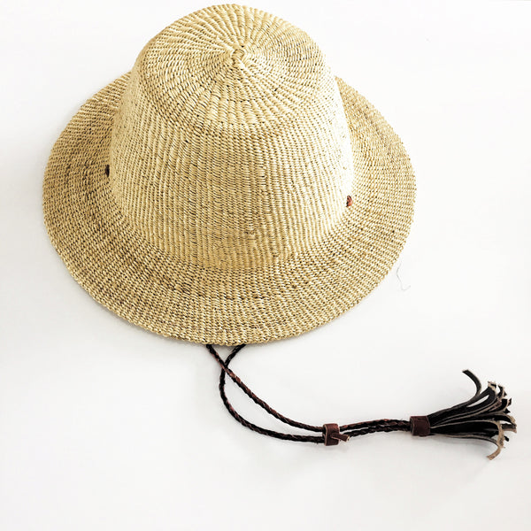 Swahili Handmade Sun Hat (Natural)