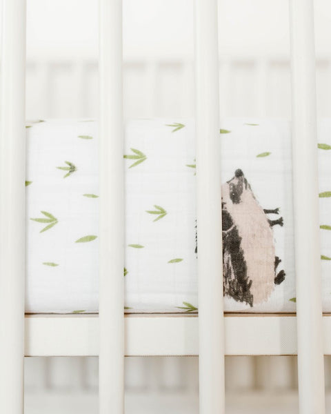 Little Unicorn Crib Sheet (Hedgehog)