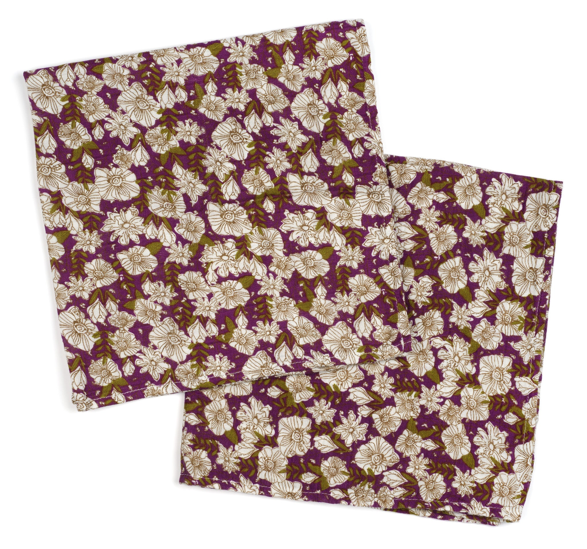 Milkbarn Burpee Bundle: Purple Floral
