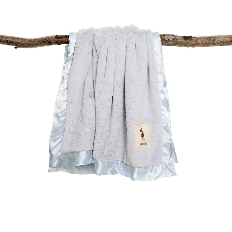 kidAboo | Small Blanket - Solid Blue