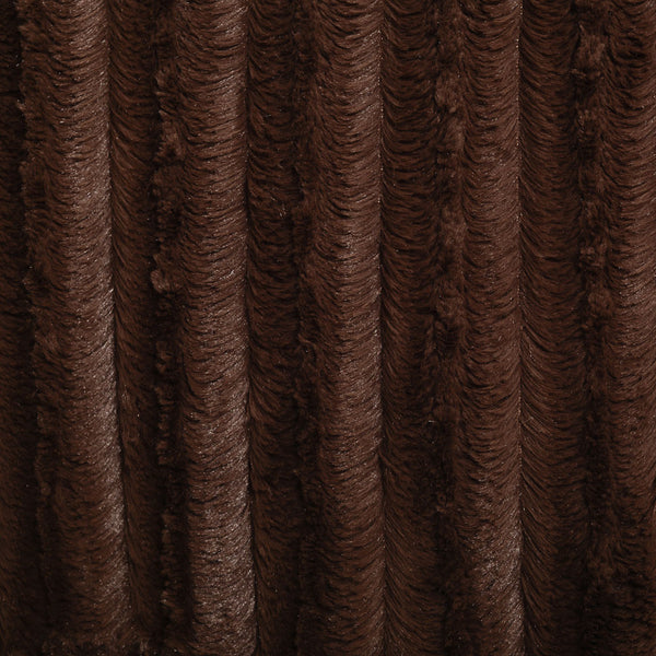 kidAboo | Small Blanket - Ribbed Chocolate
