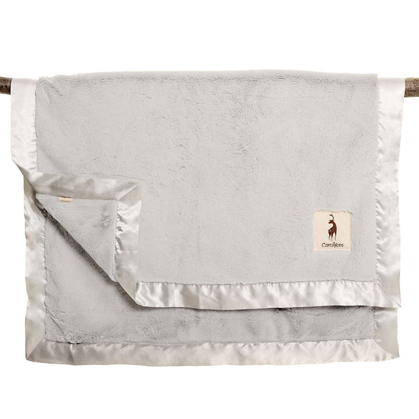 kidAboo | Small Blanket - Solid Silver