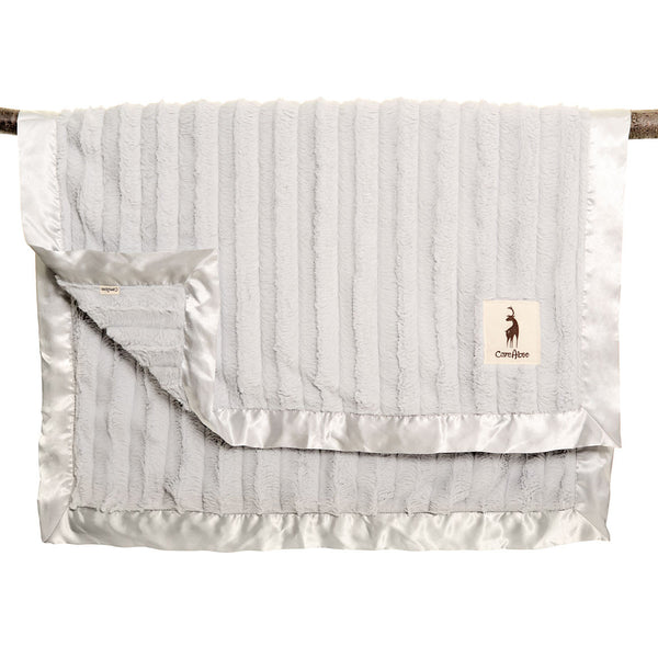 kidAboo | Small Blanket - Brushed Silver