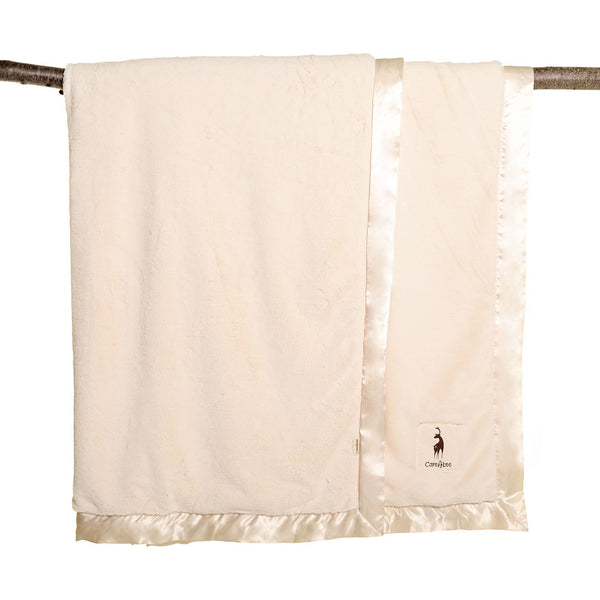 plushAboo | Large Blanket - Solid Cream