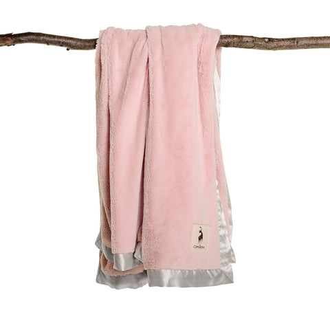 plushAboo Large Blanket - Solid Pink