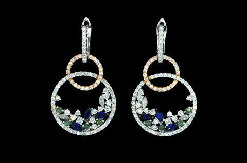 Crystal Flick Earrings