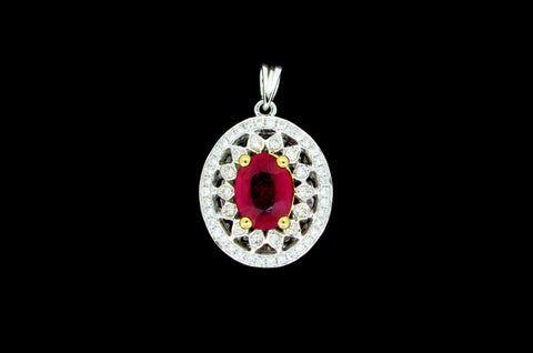 Ruby Eye Pendant