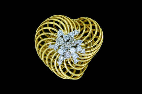 Heart Nest Ring