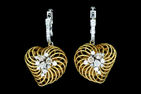 Heart Nest Earrings