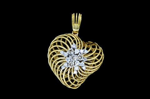 Heart Nest Pendant