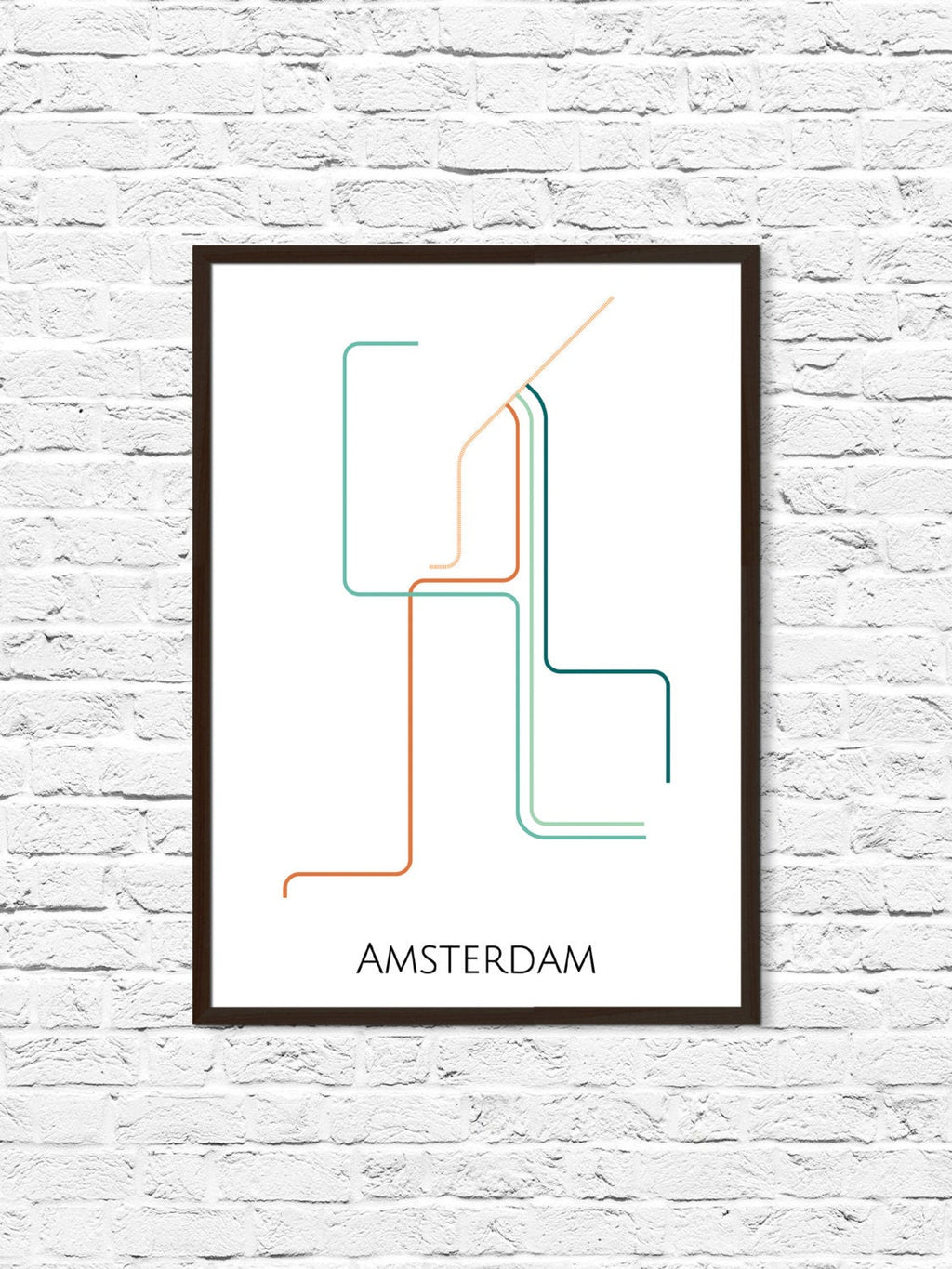 Amsterdam Subway Map - ParMar Media - 1