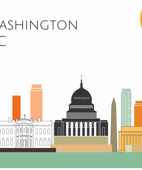 Washington DC Skyline - ParMar Media - 2