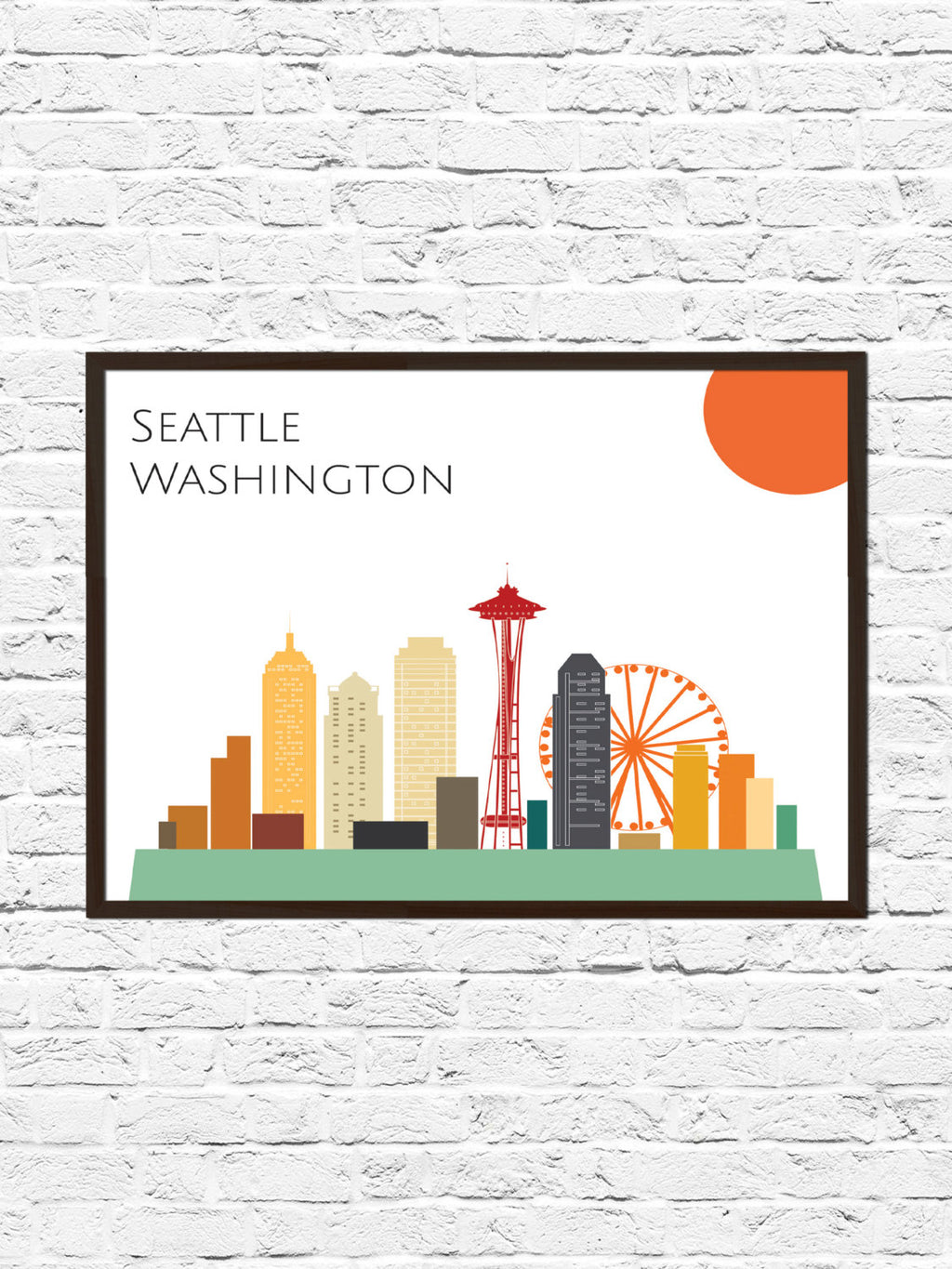Seattle Skyline - ParMar Media - 1