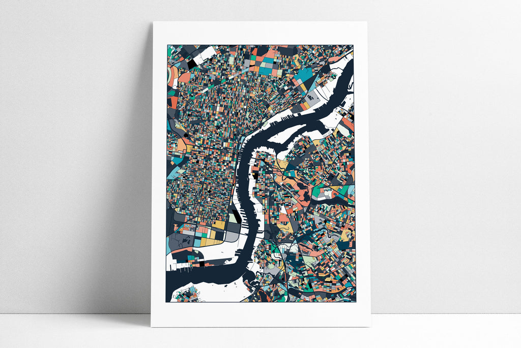 Philadelphia Map Art Print Home Decor Philadelphia Print Philly City Map Philly Map Poster Print Philadelphia Pennsylvania Wall Art Decor