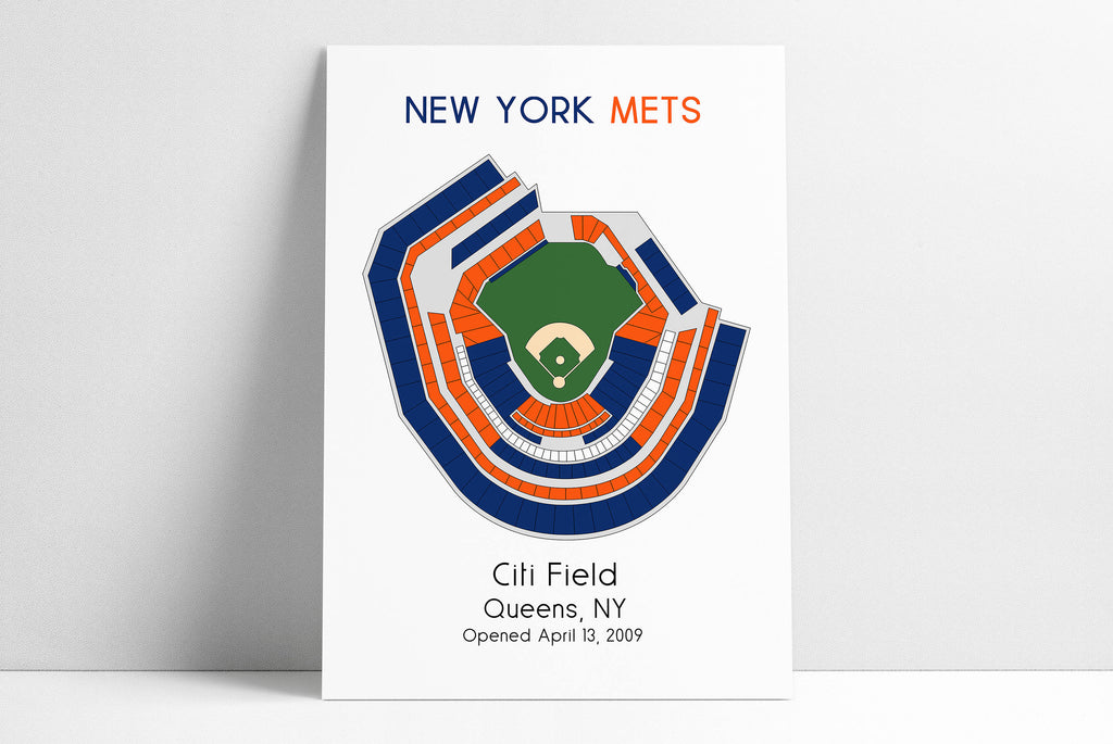 New York Mets, MLB Stadium Map