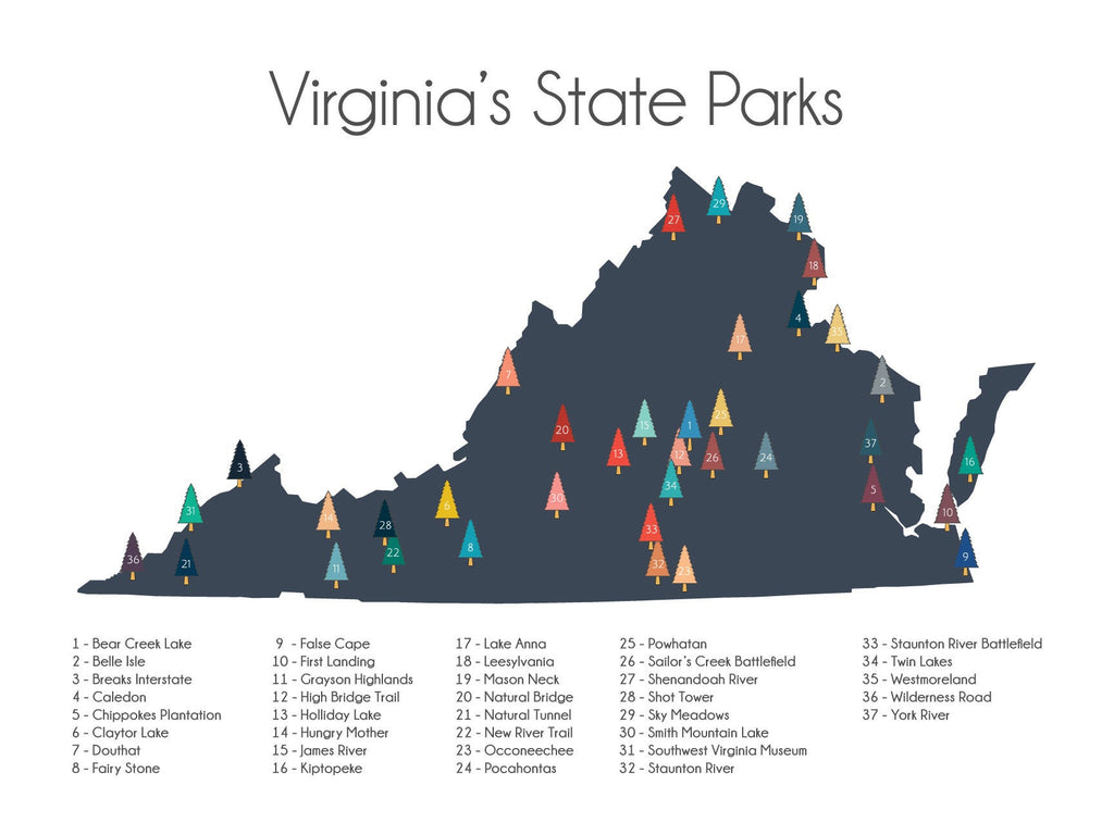 Virginia's State Parks, VA State Parks