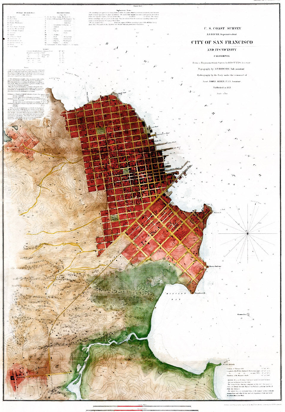 San Francisco California Map Art - ParMar Media - 1