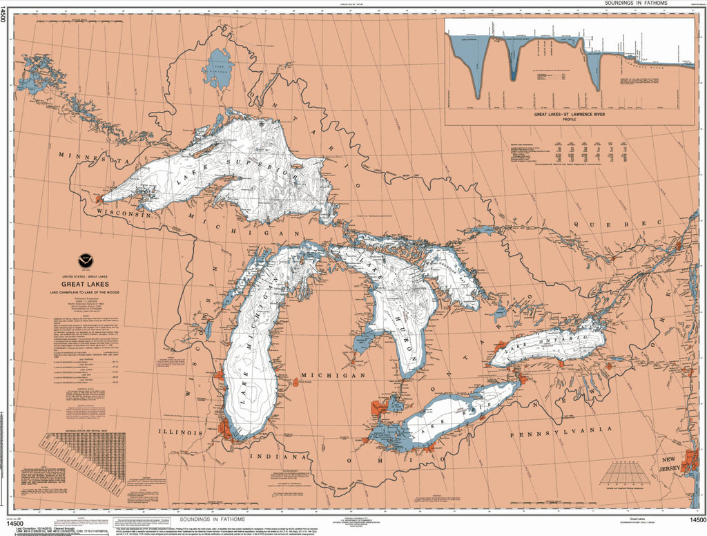 Great Lakes Map - ParMar Media - 2