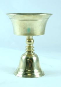 Brass Butter Lamp