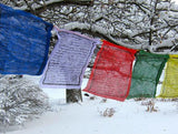 Mahakala Prayer Flag, set of 5