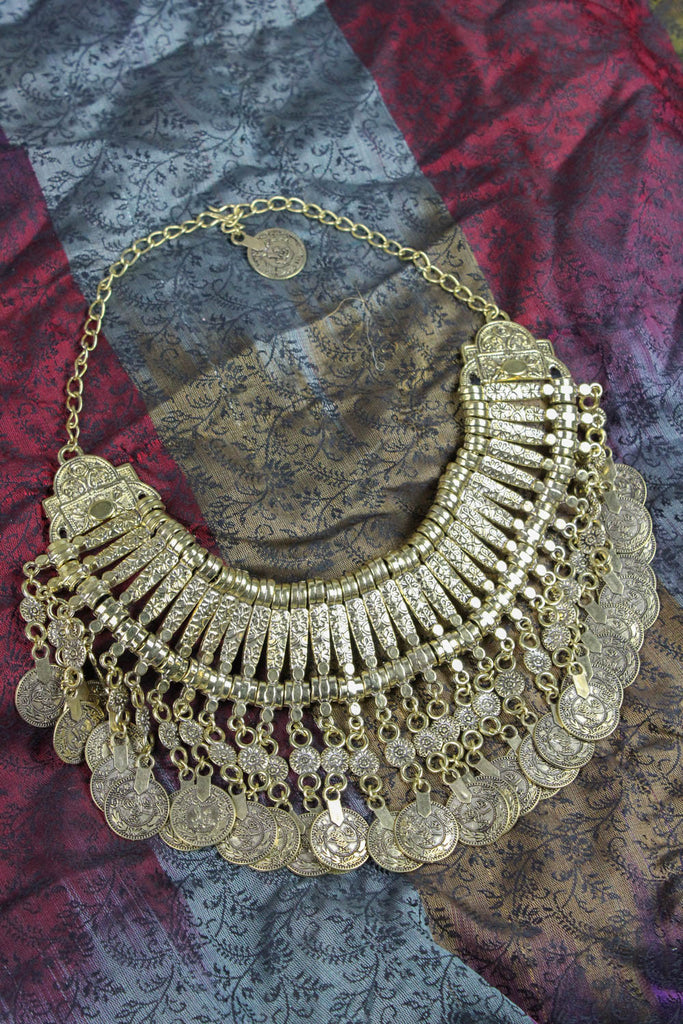 Balancing Energy Brass Necklace