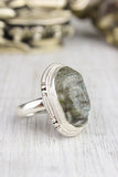 Protection and Balance Labradorite Buddha Ring