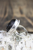 Black Onyx Buddha Intuition Ring