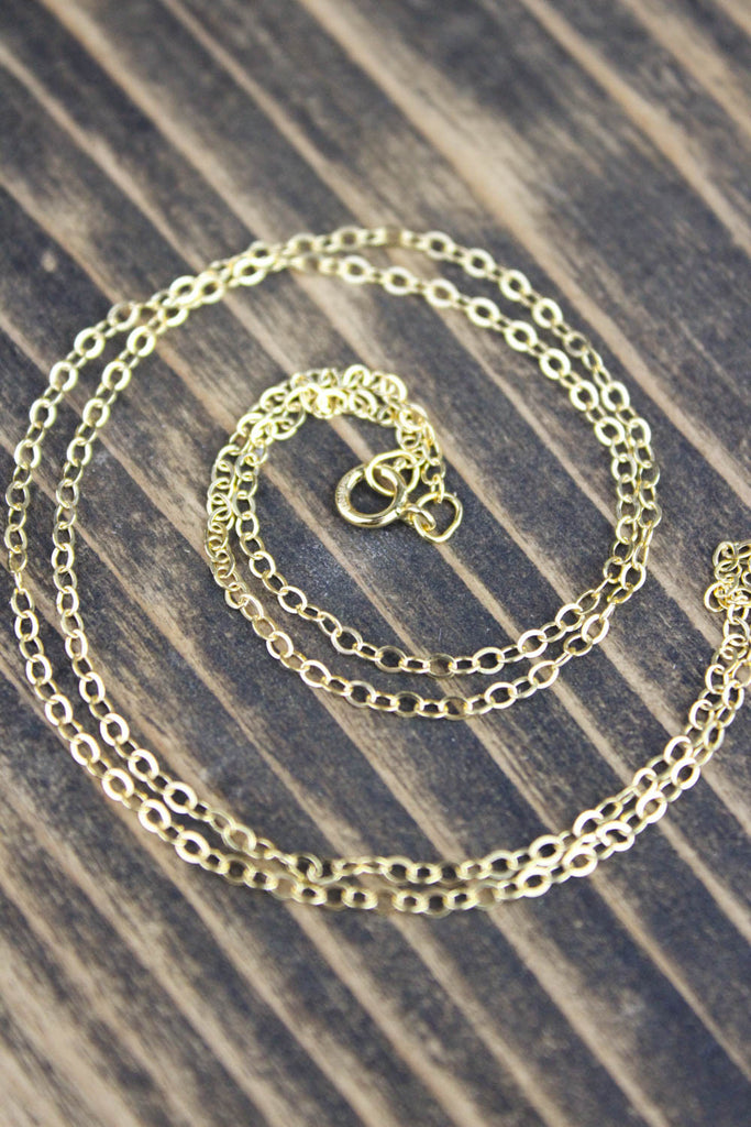 18 Inch Gold Filled Chain
