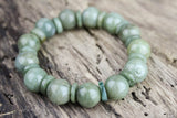 Peace and Strength Jade Bracelet