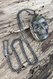 Stone of Magic Skull Necklace