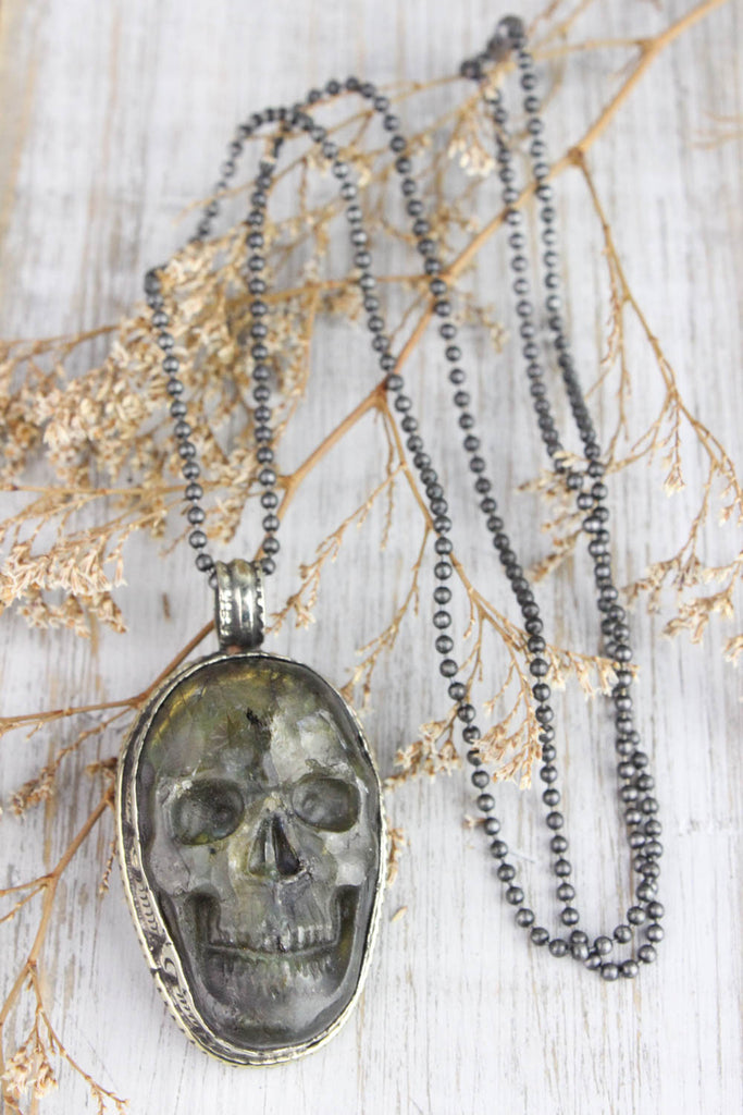 Powerful Protector Skull Necklace