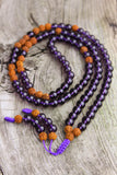 Wellness and Intuition Amethyst Mala