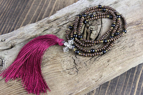 Graceful Insights Necklace with Tassel