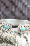 Sterling Silver and Insightful Turquoise Bracelet