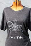 Over-Print Exclusive Discount Free Tibet Windhorse Shirt