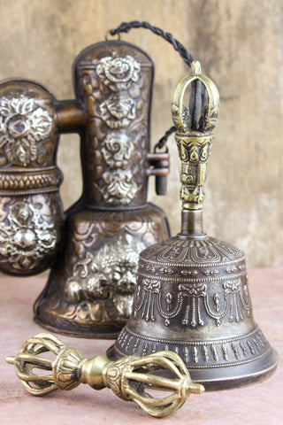 Finest Quality Bell and Dorje With Case