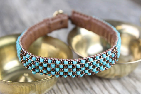 Calm Reflections Beaded Bracelet