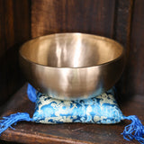 Handcrafted Therapy Singing Bowl with Thick Edge