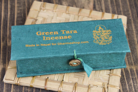 Green Tara Uplifting Energy Incense