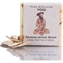 Yogi Sandalwood Fair Trade Natural Soap