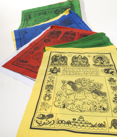 Special Cotton Windhorse Prayer flags