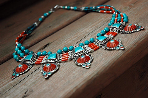 Ocean Of Wisdom Tibetan Necklace