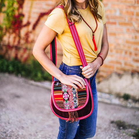 Vibrant Soul Satchel Bag