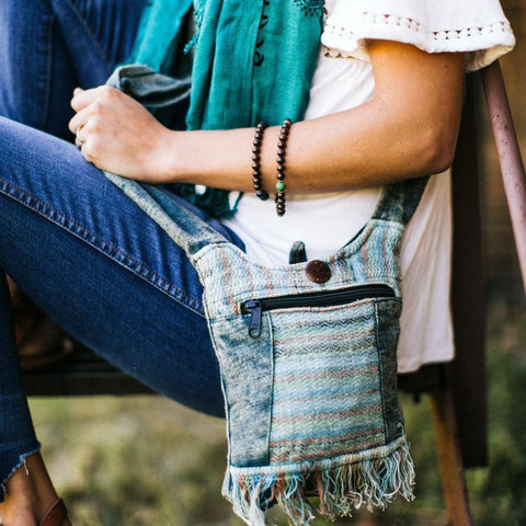 Dreams of Nepal Crossbody Bag