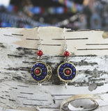 Dharma Perfection Lapis Earrings