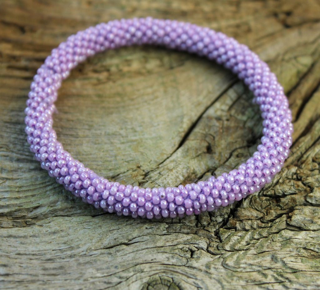 Earthquake Relief Bracelet-Lilac